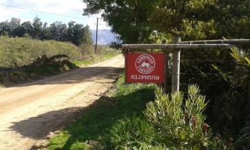 Kliphuis sign